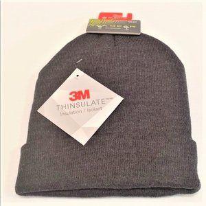 Tek Gear WarmTek Charcoal Grey Knit Cap